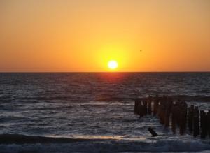 Sunset on Naples Beach